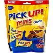 Pick Up! mini galletas rellenas de chocolate paquete 106 g 10 envases de 2 unidades Bahlsen