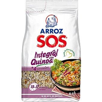 SOS arroz integral con quinoa  paquete 1 kg