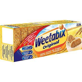 WEETABIX Original Bloques de cereales de desayuno de trigo entero Paquete 215 g