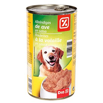 DIA Alimento para perros albondigas ave Lata 1200 gr
