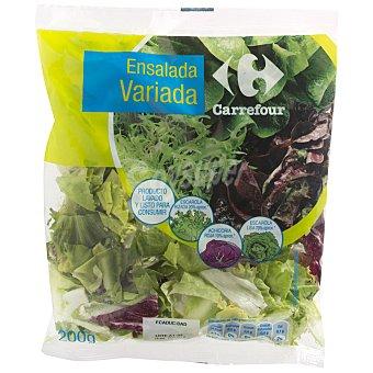 Carrefour Ensalada variada Bolsa de 200 g