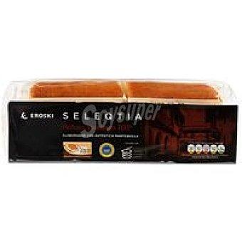 Eroski Seleqtia Sobao pasiego 100% mantequilla Paquete 4 unid