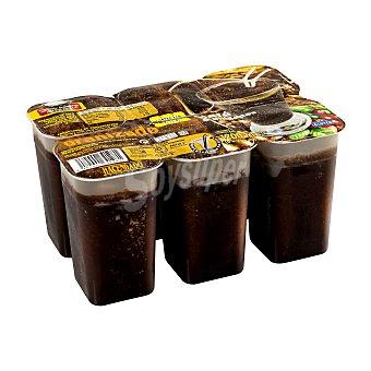 Hacendado Helado granizado de café Pack 6 x 200 ml