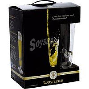 Warsteiner Cerveza alemana Pack 5x33 cl + Vaso