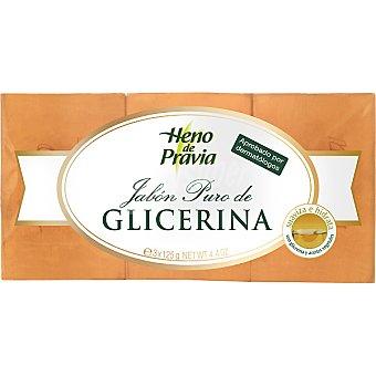 Gal Pastilla de jabón puro de glicerina Pack 3 unidades 125 g