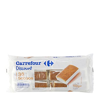 Carrefour Discount Sobaos Bolsa de 36 uds