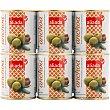 Aceitunas rellenas de anchoa 6 latas de 50 g Aliada