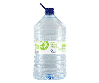 Productos Económicos Alcampo Agua mineral Garrafa de 5 litros