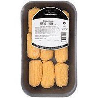 Basarri Croquetas de huevo-york Bandeja 300 g