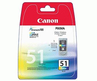 Canon Cartucho de tinta CL-51 Color, compatible con impresoras: pixma iP6210, iP6220, iP6310, MP150, MP160, MP170, MP180, MP450, MP460, MX300, MX310