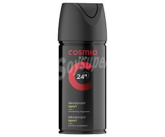 Cosmia Desodorante en spray para hombre con fragancia revitalizante y protección de hasta 24 horas 150 ml
