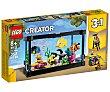 Juego de construcciones 3 en 1 Acuario con 352 piezas, Creator 31122. LEGO Creator 31122