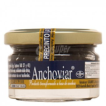 Pescaviar Anchoviar Anchoas 55 G 55 g