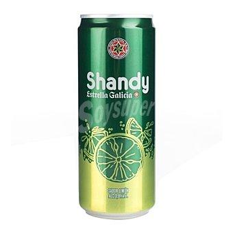 Estrella Galicia Cerveza Shandy lata 33 cl