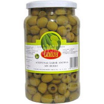 Lauroliva Aceitunas manzan. sabor anchoa sin hueso Tarro 600 g