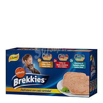 Brekkies Affinity Comida variada 3 ud