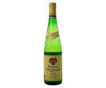Baron de Urzande Vino blanco con denominación de origen La Rioja Botella de 75 centilitros