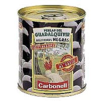 Carbonell Aceitunas negras al vacío Lata 90 g