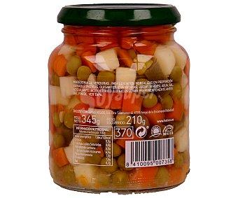Helios Macedonia de verduras frasco de 210 gramos