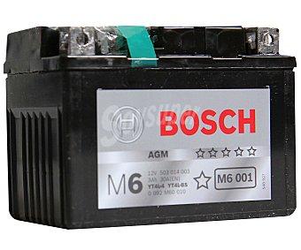 Bosch Batería de moto de 12v y 3 Ah, con potencia de arranque de 30 Amperios y medidas de 114x71x86 milímetros 1 unidad