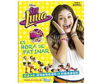 Disney Soy Luna Es hora de patinar, Pega, colorea y diseña, vv.aa. Género: infantil. Editorial Disney. Descuento ya incluido en pvp. PVP anterior