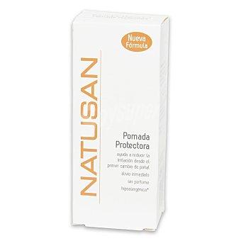 Natusan Pomada protectora que ayuda a reducir la irritación desde el primer cambio de pañal alivio inmediato, sin perfume Tubo 75 ml