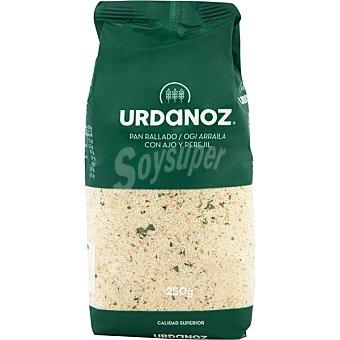 Urdanoz Pan rallado con ajo-perejil Paquete 250 g