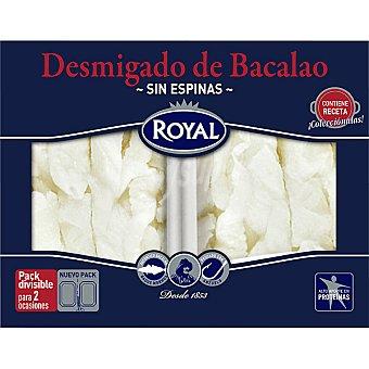 Pescados Royal Bacalao desmigado sin espinas Pack 2 envases 100 g