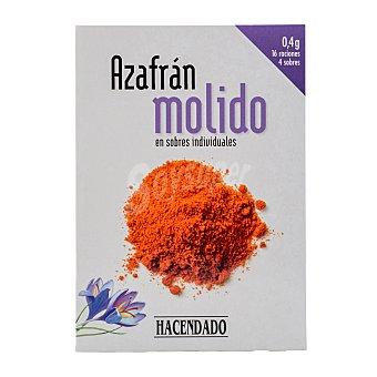 Hacendado Azafrán molido CAJA 0,40 g