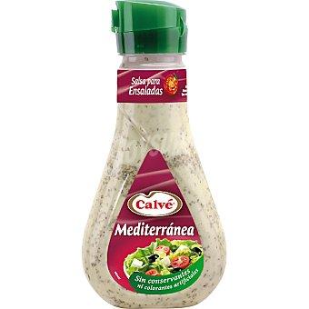 Calvé Salsa vinagreta Mediterránea Frasco 235 ml