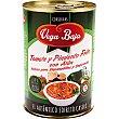 Baja tomate frito y pimiento con atún Lata 420 g Vega