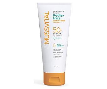 Mussvital Fotoprotector loción Pediatric FP50 (protección muy alta) 300 Mililitros