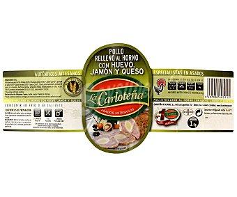 La Carloteña Pollo Asado Mini Huevo-Jamón-Queso 1 Kilo