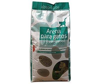 Auchan Arena absorbente para gatos a base de arcilla 100% natural 10 kilogramos