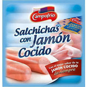 Campofrío Salchichas con jamón cocido 150 g