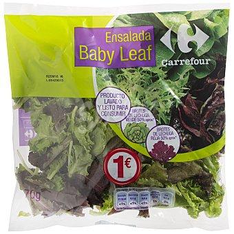 Carrefour Ensalada Baby Leaf Bolsa de 70 g