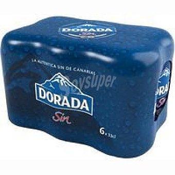Dorada Cerveza Sin Pack 6x33 cl