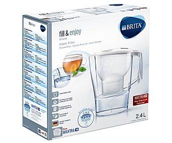 BRITA Jarra purificadora Aluna color blanco más 1 filtro Maxtra 1 unidad