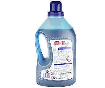 Auchan Detergente en gel para lavadora, lava todo tipo de ropa en agua de cualquier dureza 27 lavados
