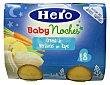 Tarrito crema de verduras con rape noches a partir 8 meses Tarro pack 2 x 190 g - 380 g Hero Baby