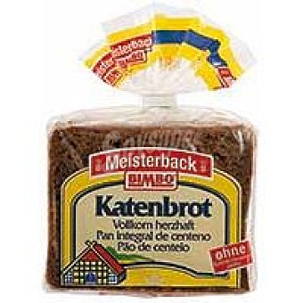 Bimbo Pan de molde integral de centeno Katenbrot Paquete 500 g