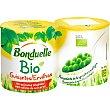 Guisantes ecológicos neto escurrido Pack 2 lata 130 g Bonduelle