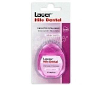 Lacer Hilo dental con flúor y triclosán, sabor menta 50 Metros
