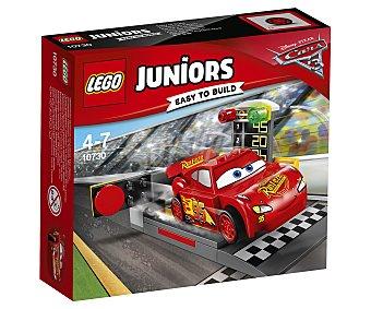 LEGO Juniors 10730 Juego de construcciones con 47 piezas Lanzador de Rayo McQueen, Cars Juniors 10730 LEGO.