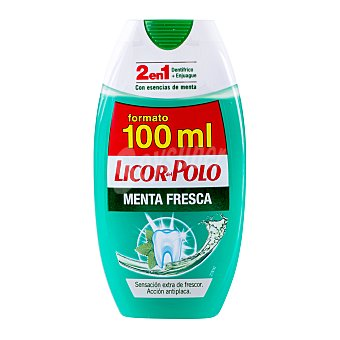 Licor del Polo Dentifrico + elixir menta fresca Botella 100 cc