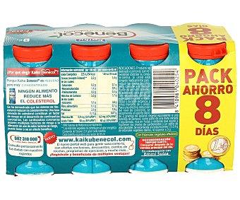 Kaiku Benecol Yogur de Fresa Pack 8 Unidades de 70 Gramos