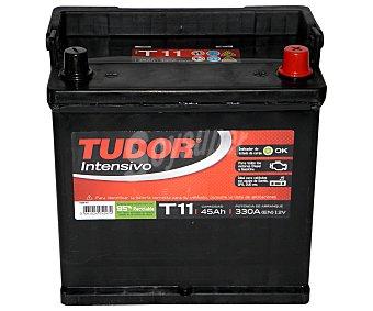 TUDOR Batería de arranque T11 12 Voltios 45Ah , potencia de arranque: 330 Amperios 1 unidad