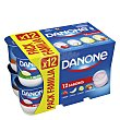 Yogur de sabores Danone Pack de 12 unidades de 120 g Danone