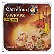 Tortillas de trigo Pack de 3 unidades de 62 g Carrefour