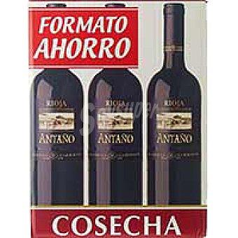 Antaño Vino Tinto Joven Rioja Pack 6x75 cl